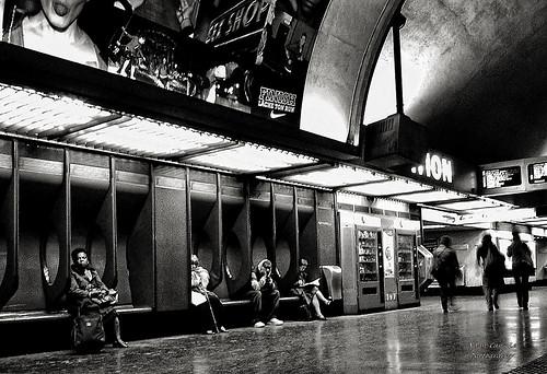 platform Métro Nation, Paris