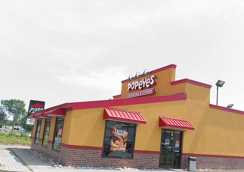 Tea for Two Sisters Popeyes Chicken in Waterloo