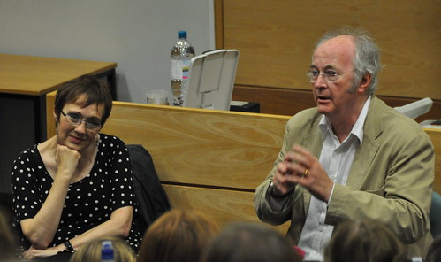 Sherry Ashworth and Philip Pullman