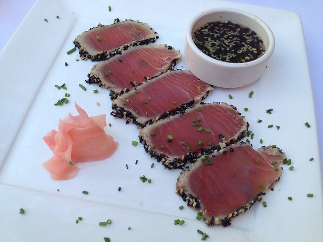 Rare sesame ahi - The Tropicale