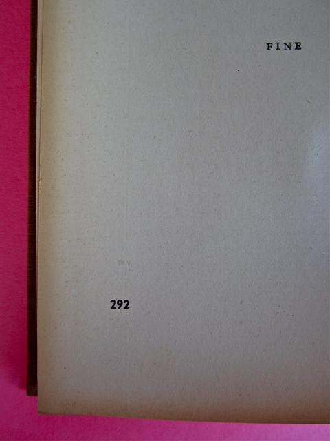Gore Vidal, La città perversa, Elmo editore 1949. Pag. 292 (part.), 1
