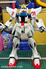 Gundam F91 1-60 Big Scale OOTB Unboxing Review (100)