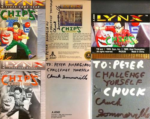 Autographed Chip's Challenge