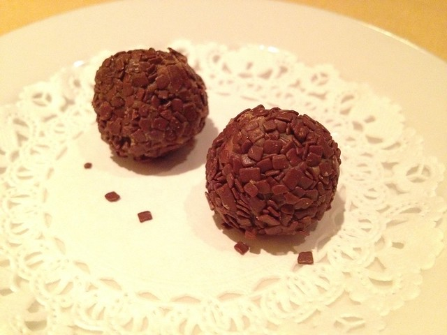 Chocolate covered hazelnuts - LaSalette Restaurant