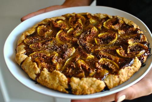Fig & Honey Cream Galette