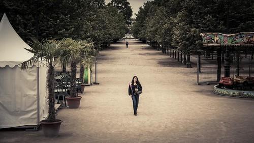 The Stalker (Jardin des Tuileries, Paris) - Photo : Gilderic