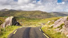Ballaghbeama Gap mountain pass road, #Kerry