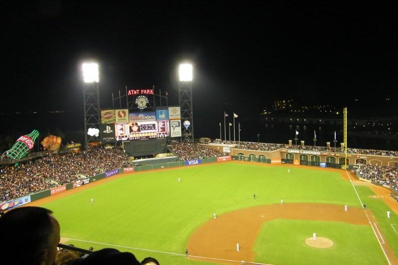 San Francisco Giants 1, Philadelphia Phillies (San Francisco, California - Wednesday April 18, 2012)
