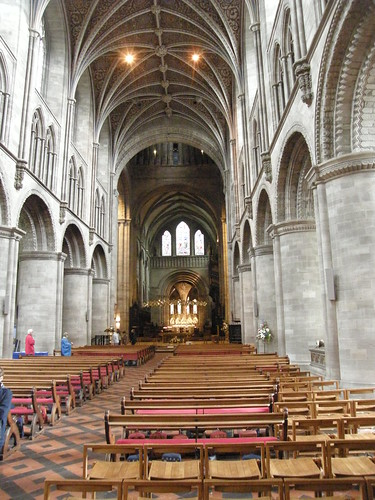 Hereford Cathedral interior