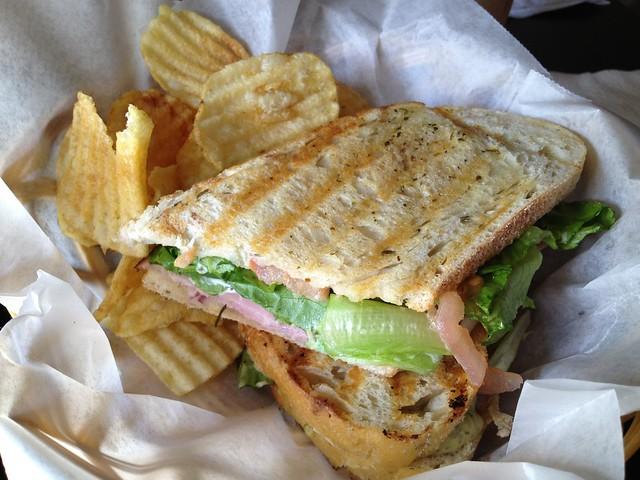 Cafe Cuatro Sombras panini