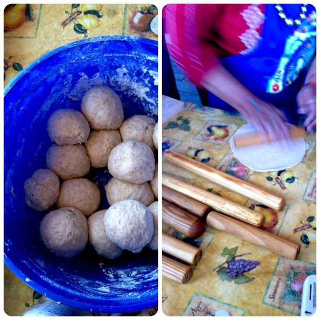 Norma making tortillas II