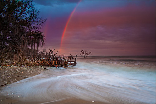 Rainbow over the Botany Bay