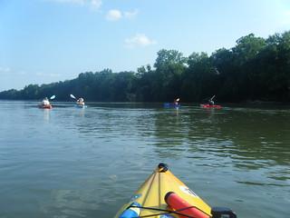 Broad River Paddling May 26, 2012 5-57 PM