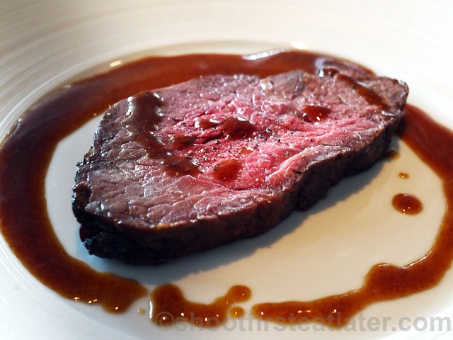what I ate at Spoon- roasted beef