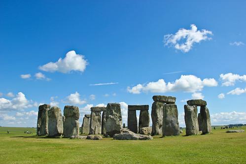 Postcard shot of Stonehenge