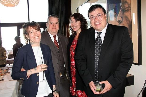 Michelle Tea, Daniel Handler, Mary Ladd & Oscar Viallon