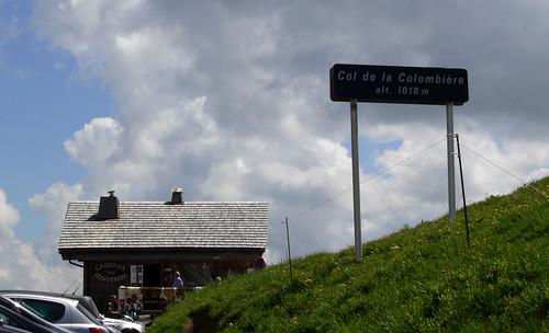 Col de la Colombiere 1618m