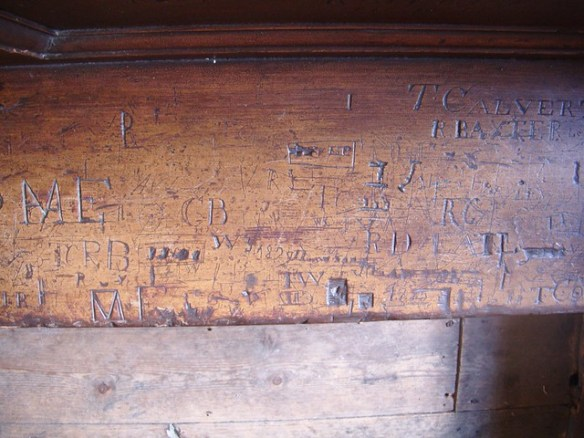 Graffiti, Sir William Turners Almshouse
