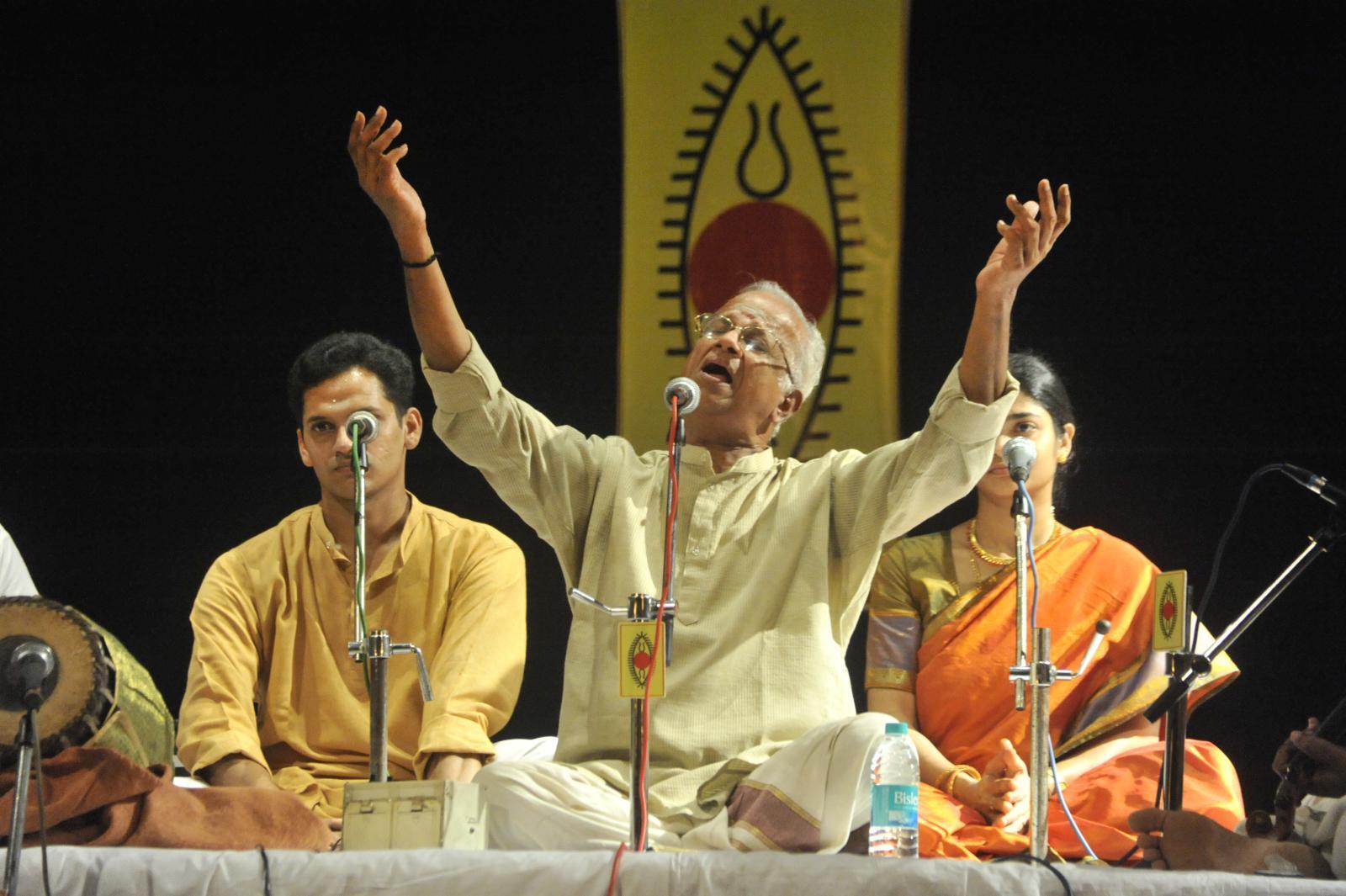 Just for starters, T V Sankaranarayanan, Carnatic Vocal