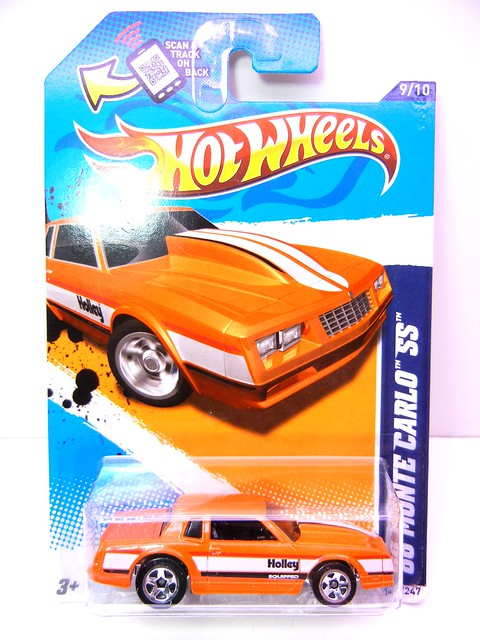 hot wheels '86 monte carlo ss orange