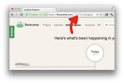 Basecamp Account ID