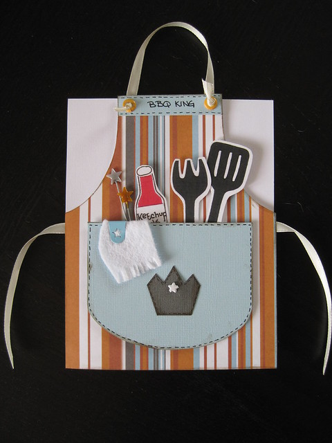 BBQ Themed Apron Birthday Card Flickr Photo Sharing!