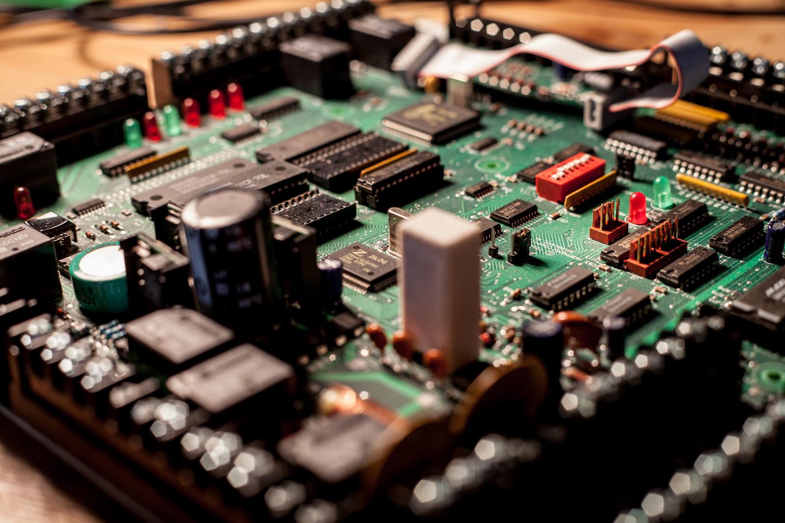 Circuit Board by wwward0