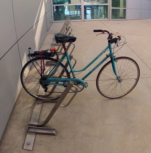 My new favorite bike rack