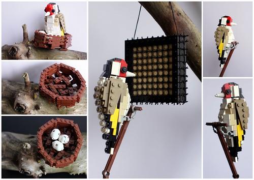LEGO goldfinch