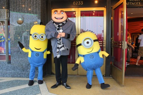 Gru and Minions from Despicable Me