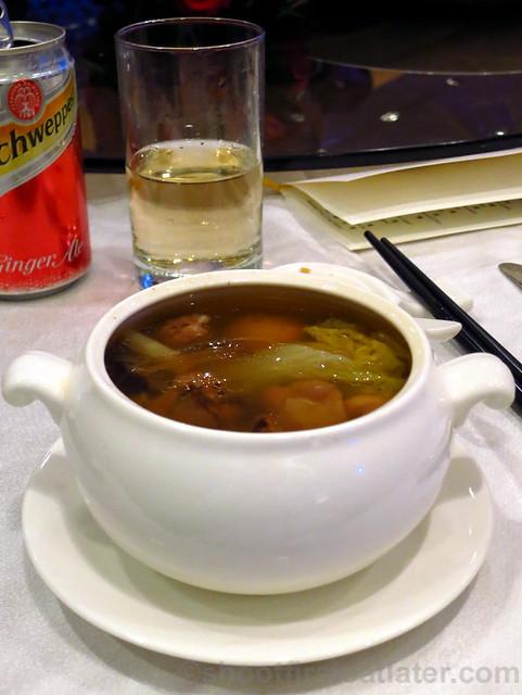 Taiwanese Buddha tureen soup