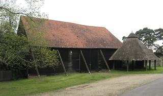 5a. Horse gin and barn at Barcombe