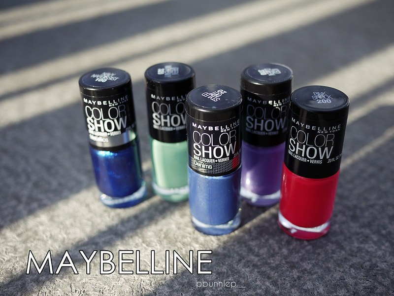 maybelline colorshow nails