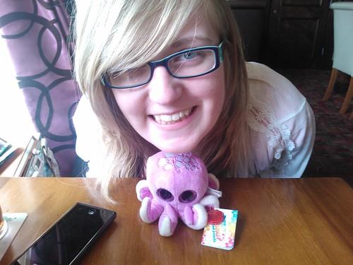 Hannah's cute Octopus plush