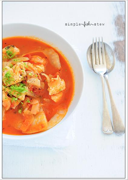 simple fish stew