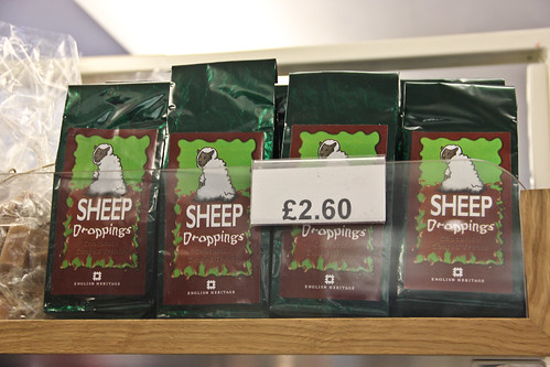 Sheep Droppings in Stonehenge Shop