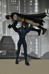 Wildcat bodyslams Batman