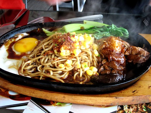 NoodleHouse sizzling braised chicken noodles 2
