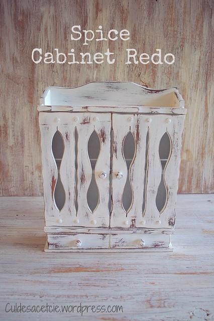 Spice cabinet redo