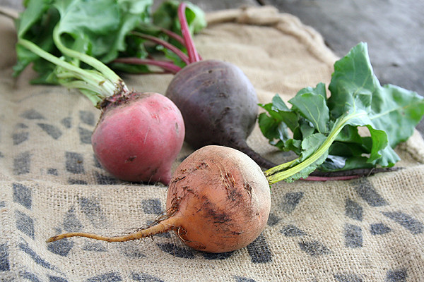 Chioga, Golden, and Red Beets