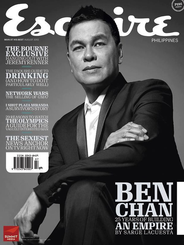 Ben Chan in Esquire