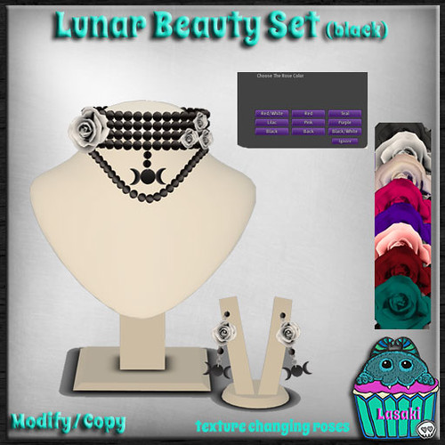Lasaki-LunarBeautySet-BlackPearls