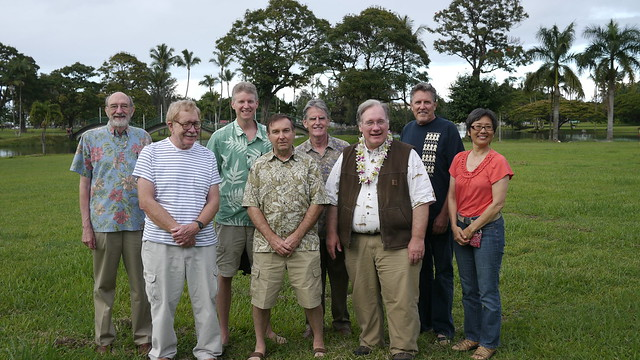Hawaii Photo Expo 2012 Board with Juror Brooks Jensen