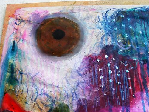 Senses Painting close up
