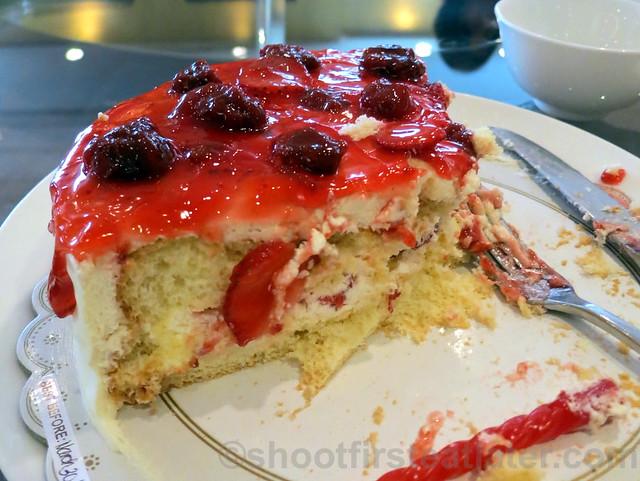 Summer Palace, Edsa Shangri-La- strawberry shortcake