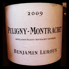 Puligny-Montrachet 2009 Benjamin Leroux