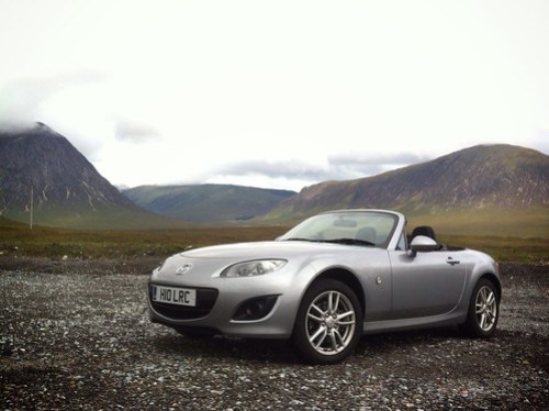 MX-5 at Glencoe