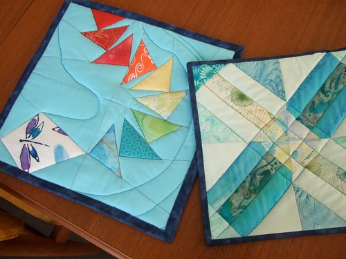 Kite and cracker scraps