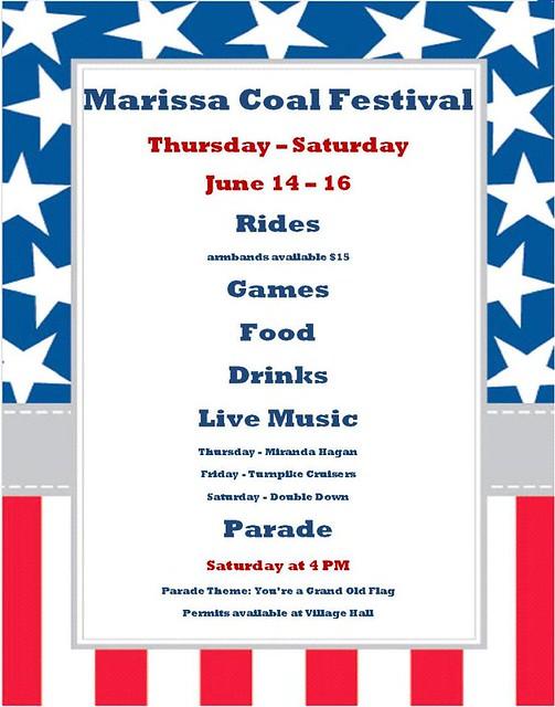 Marissa Coal Festival