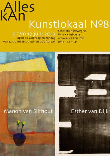 Esther van Dijk | Manon van Silfhout by AlleskAn - Kunstlokaal №8